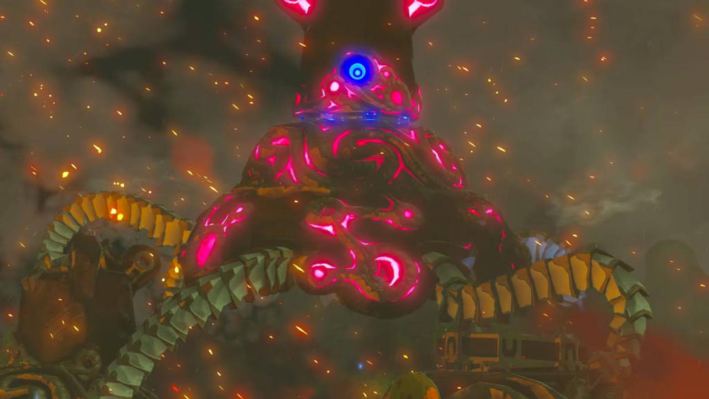 how to kill zelda guardians