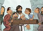 Jesus raises dead kid