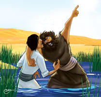 John The Baptist by PrisonerOnEarth