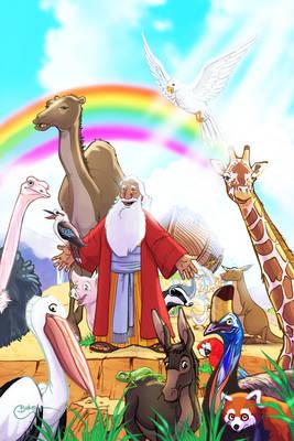 Wha'choo Noah 'bout animals??