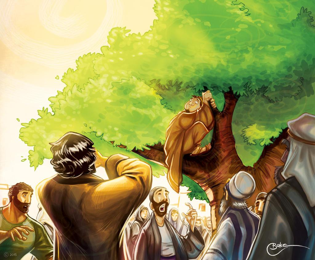 Zacchaeus by PrisonerOnEarth on - 216.6KB