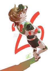 Voltron - Pidge by Aerinn-I
