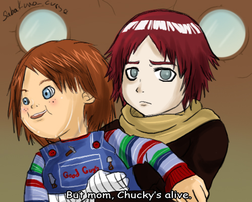 Chucky's alive by RockRaven-LG