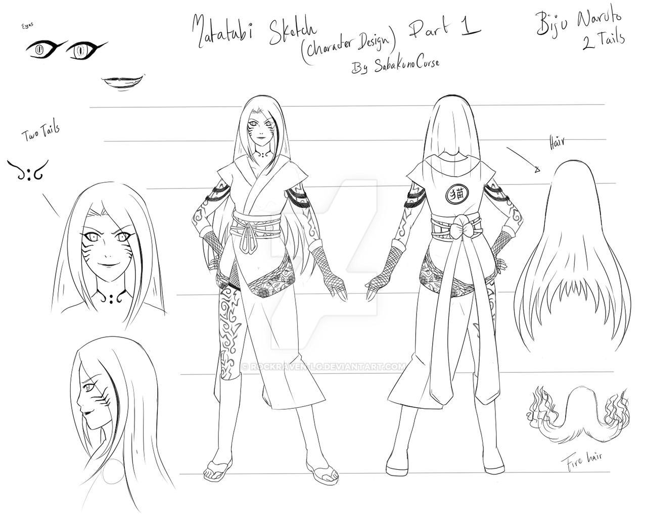 Matatabi_Nekomata_human bijus design by RockRaven-LG on DeviantArt