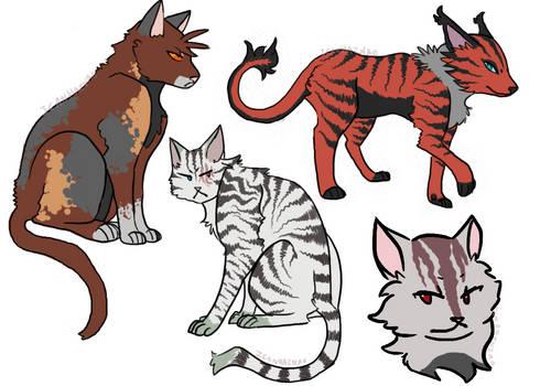 CelestialClan Kitties