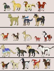 Suikoden I + II dogs