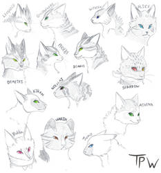 TPW Sketches by icanhaznao
