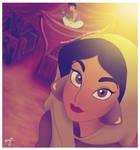Jasmine selfie