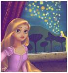 Rapunzel selfie