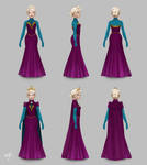 Elsa on Once Upon A Time, Coronation Gown