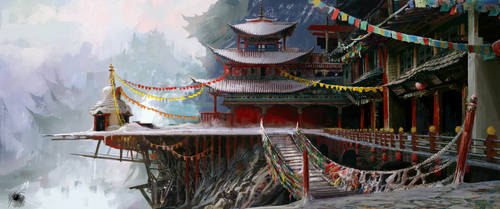 Edges of the Himalaya