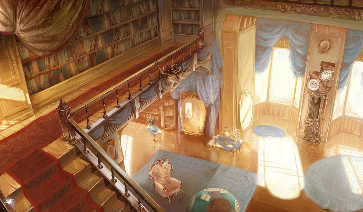 bright living room by reicheran on deviantart