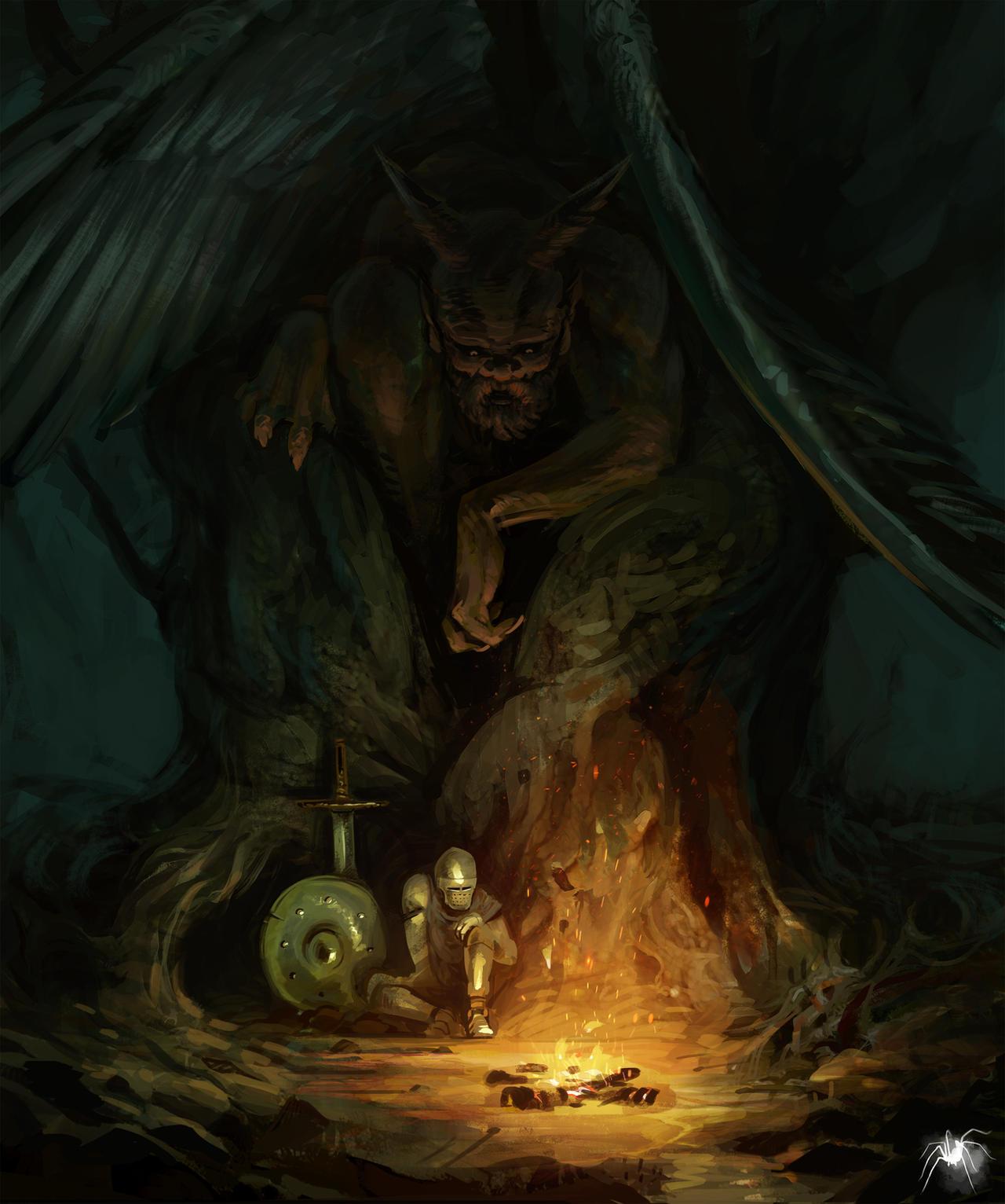 The willow devil by Reicheran