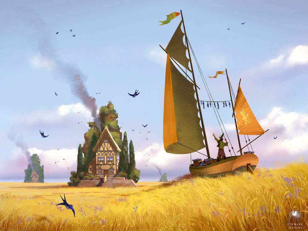 Wheat navigator by Reicheran
