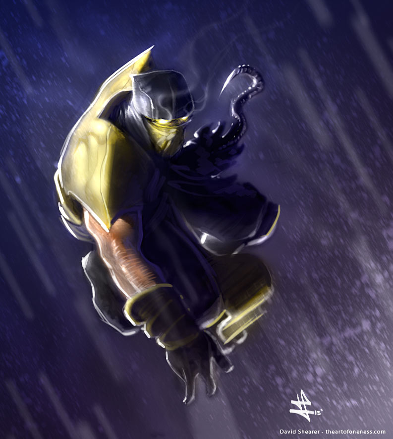 Scorpion - Mortal Kombat by rek0