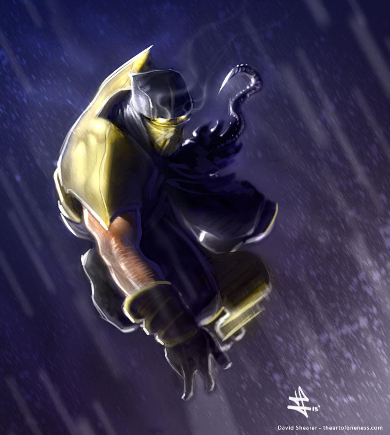Scorpion - Mortal Kombat by rek0