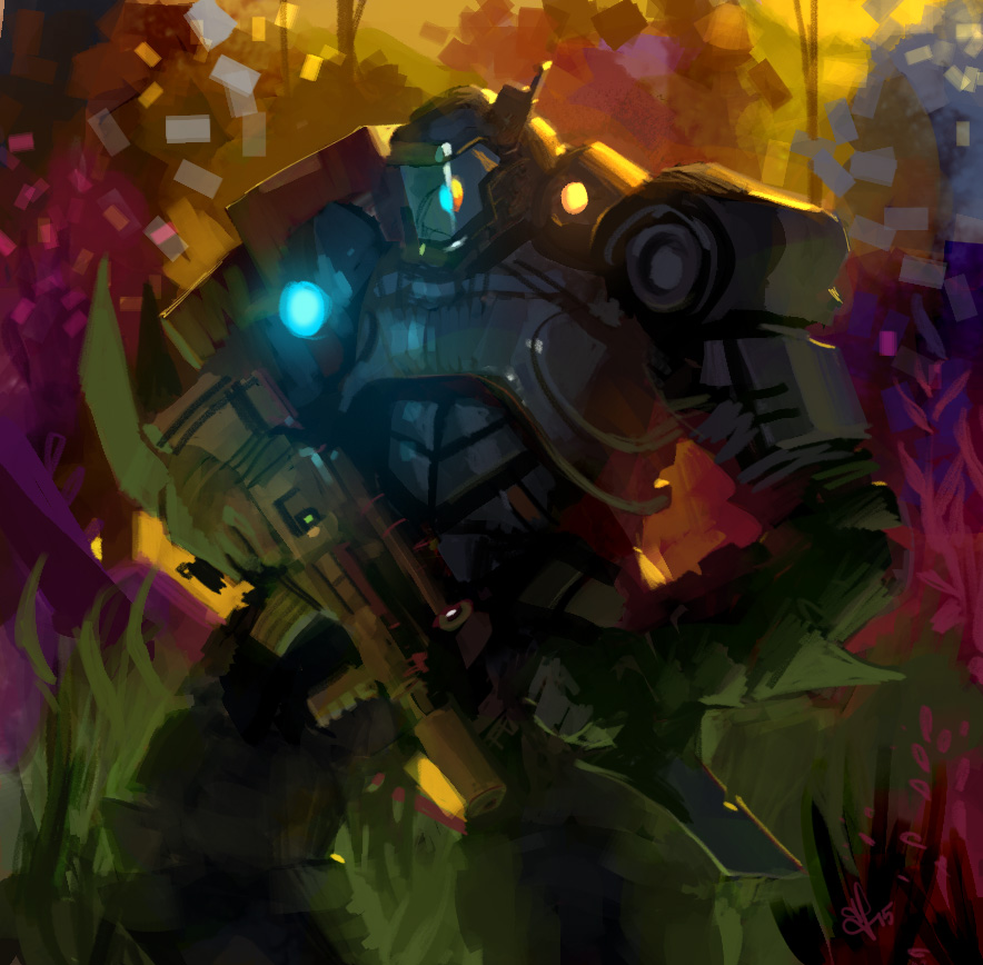 Space-marine by rek0