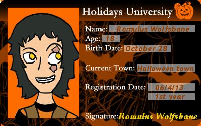 HU Romulus Wolfsbane ID by Creativefreak18
