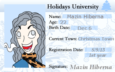 HU Mazin Hiberna ID by Creativefreak18