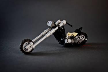 Lego Chopper by darth-gerko