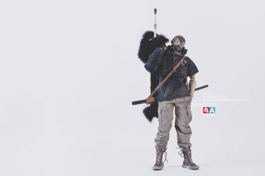 TKLUB NUMBER FOUR - RONIN OYA SUN with ICE SWORD by darth-gerko