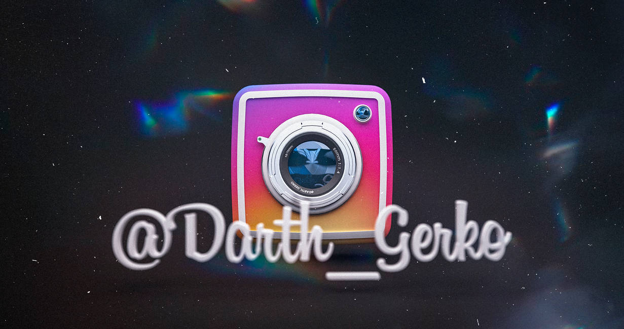 Instagram Gerko by darth-gerko