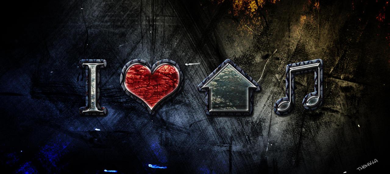I l3 house music by darklightxiii on deviantart for House music art