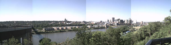St Paul Panorama by wolfen