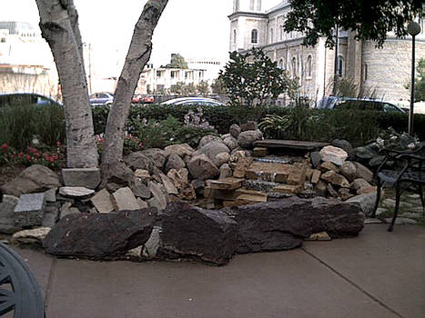 St Joe's Hospital fountain