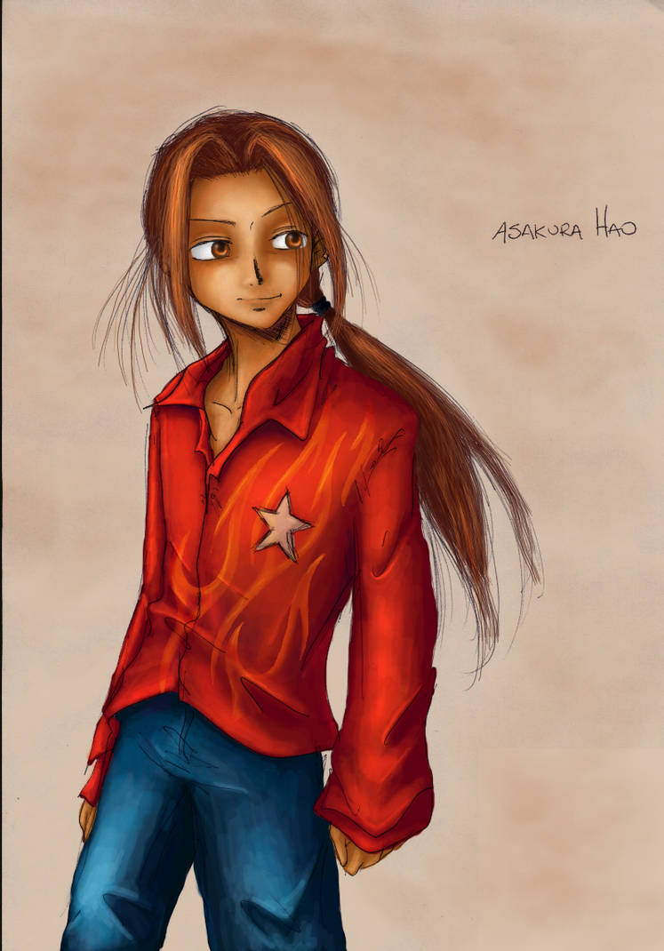 Flame Shirt Hao Anubismito