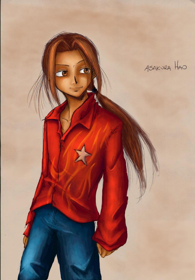 Flame Shirt Hao Anubismito by wolfen
