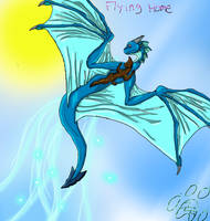 Dragon rider by Denece-the-sylcoe