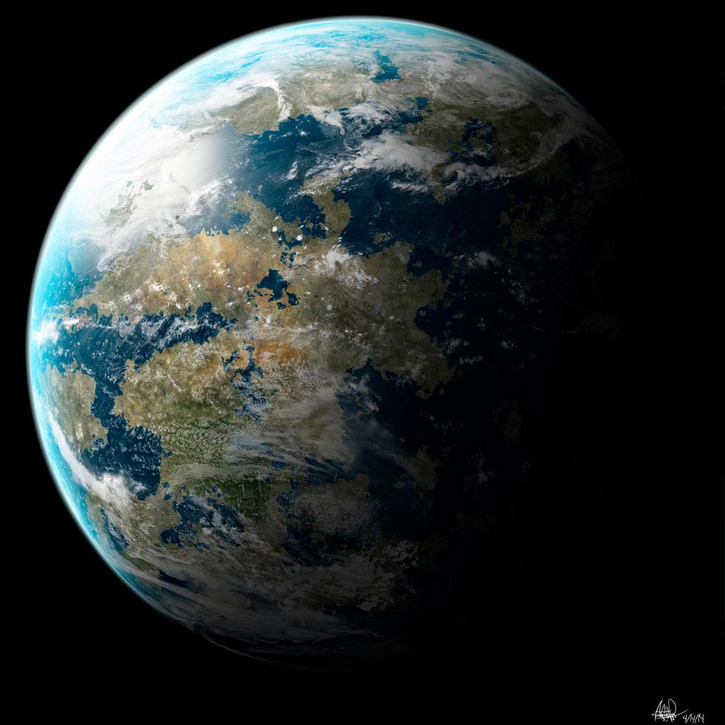 Kepler 62e by Denece-the-sylcoe on DeviantArt