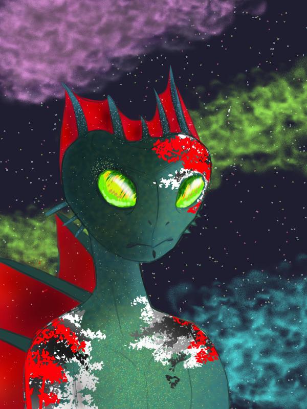 Alien Lizard by Lisanne-chan
