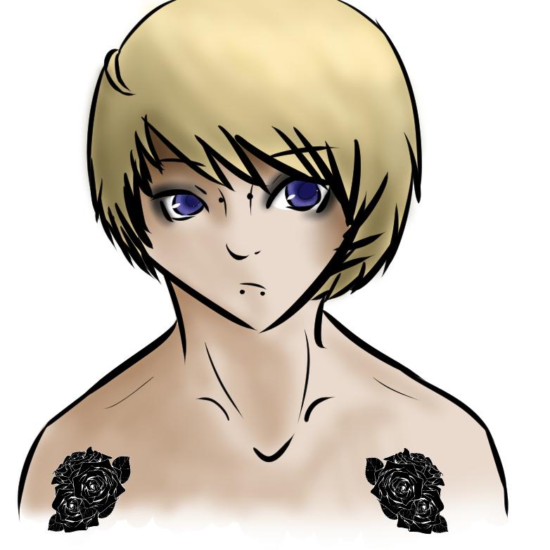 Emo Muro Blonde by Lisanne-chan
