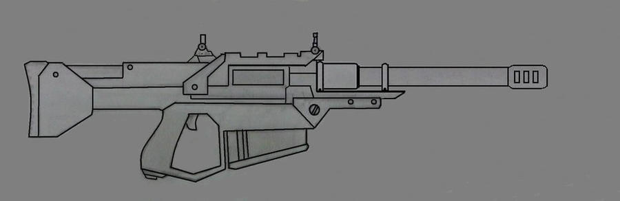 .50cal Assault rifle by Ruthie420
