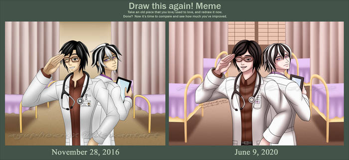 Draw Again Meme - Doctors 2016-2020