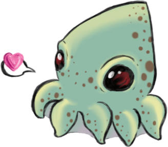 Squid squid by JadeSomeone on DeviantArt