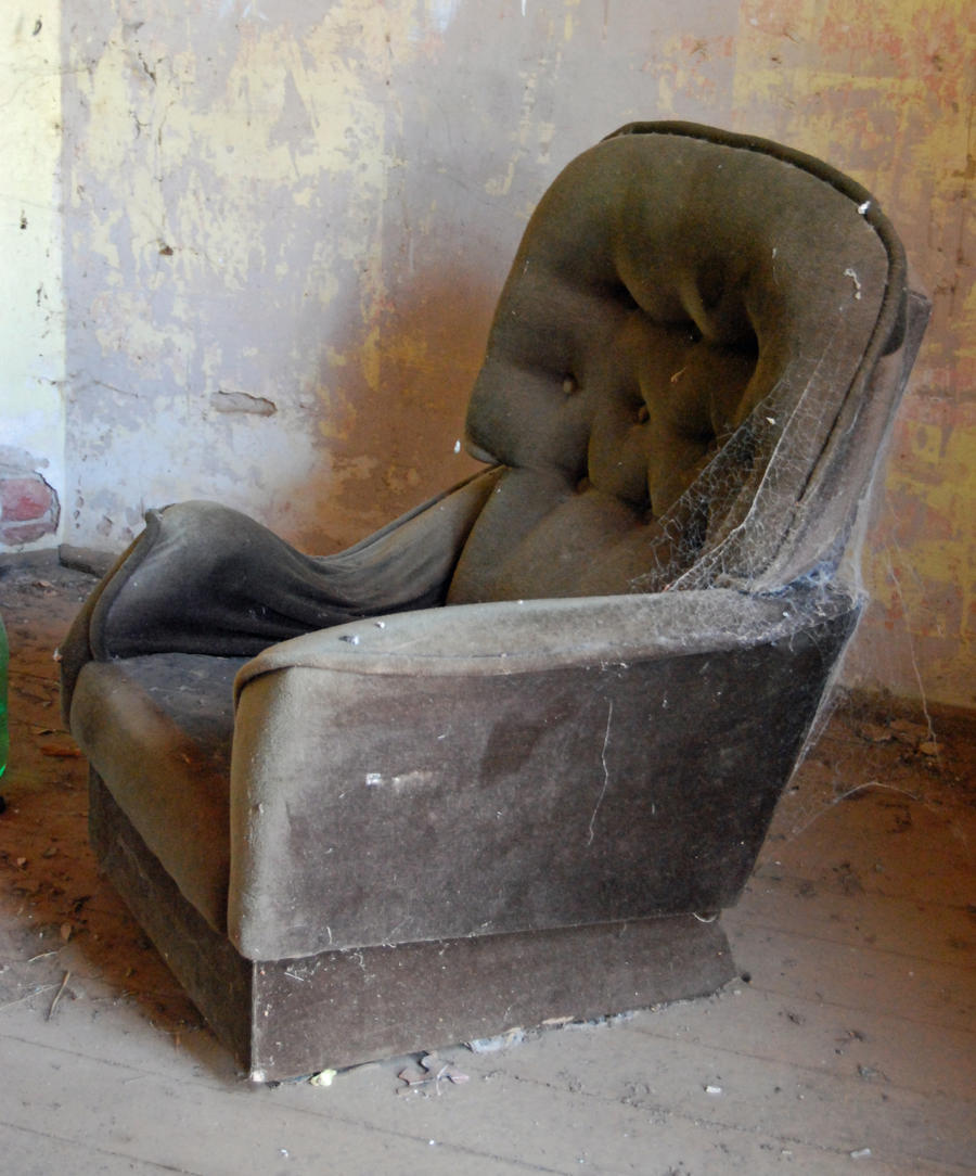 Dirty and Dusty Chair - stock