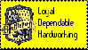 Hufflepuff Stamp by bookholder1558