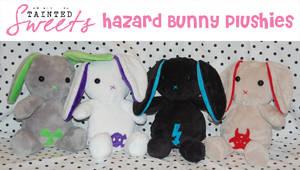 Hazard Bunny Plushies