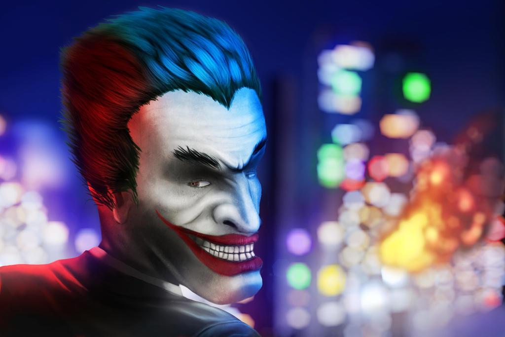 The joker by xurux