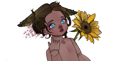 sunflower by chessyboom