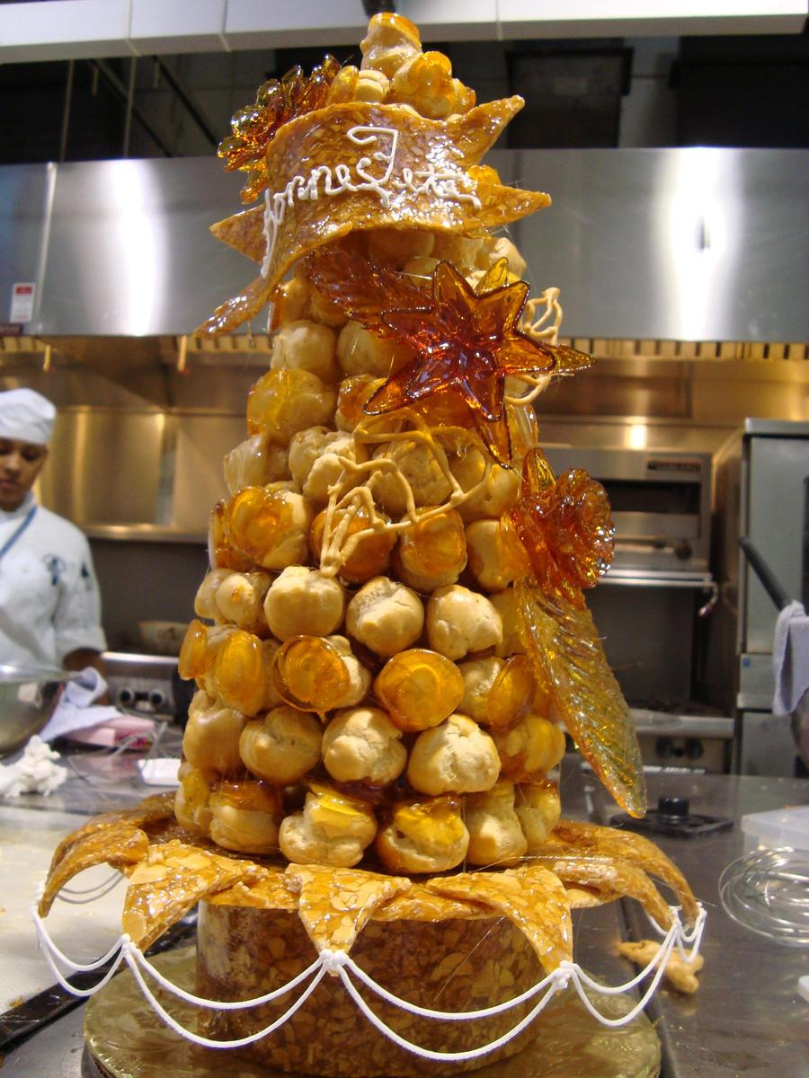 Croquembouche Wedding Cake By Zamor438 On DeviantArt