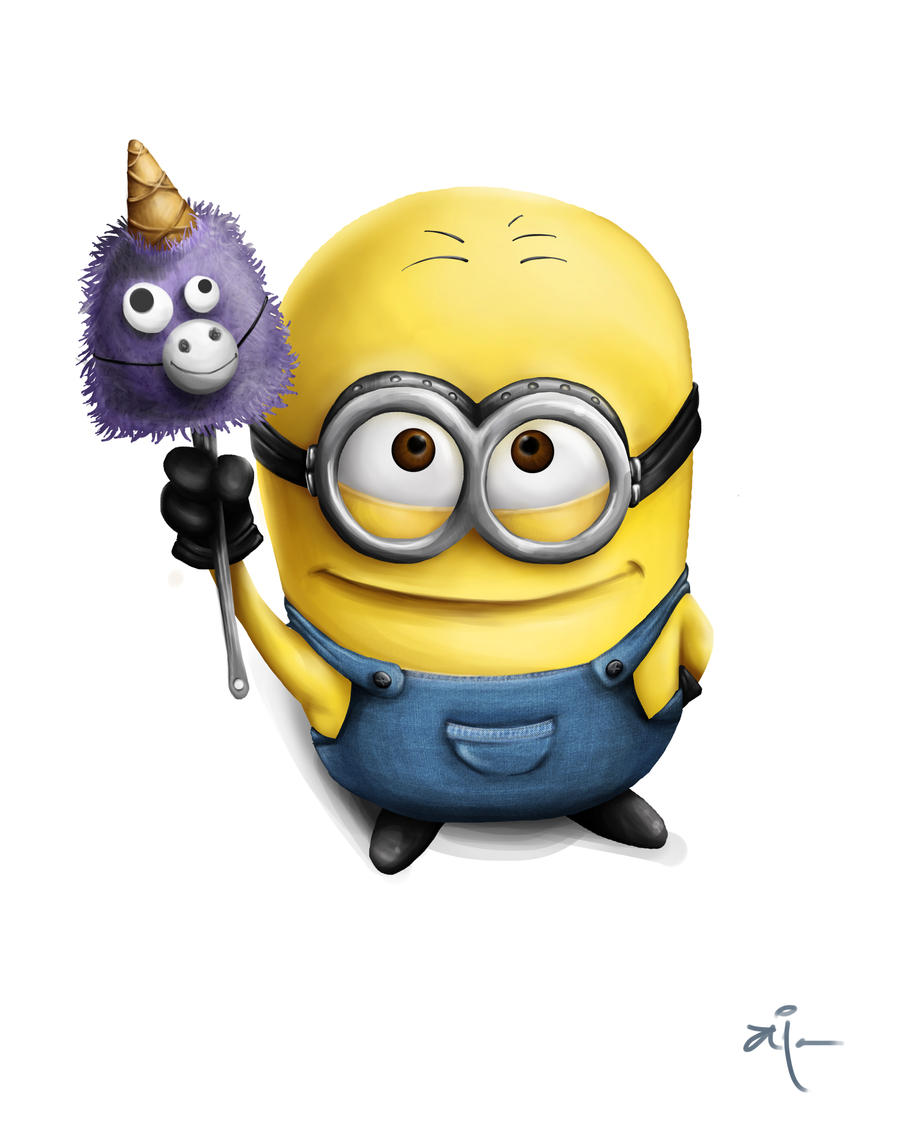 Despicable Me Minions Saying Papoy Papoy  by AiRainbowVeins