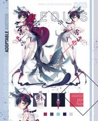 EQUOS 003 Adopt Auction: CLOSED by Kuriesu