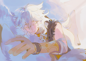 [fanart] a sleepy good morning