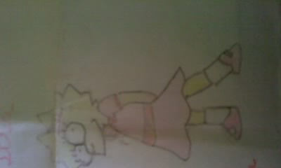 lisa simpson by brunaalex13