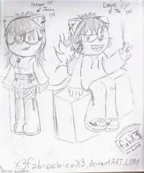 best friend hand draw by X3fabiochicoX3