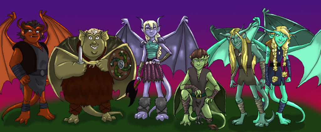 How To Train Your Dragon 2 Hiccup HTTYD: Gargoyles by De...